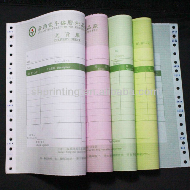 ncr computer form paper for stylus printer at direct factory price