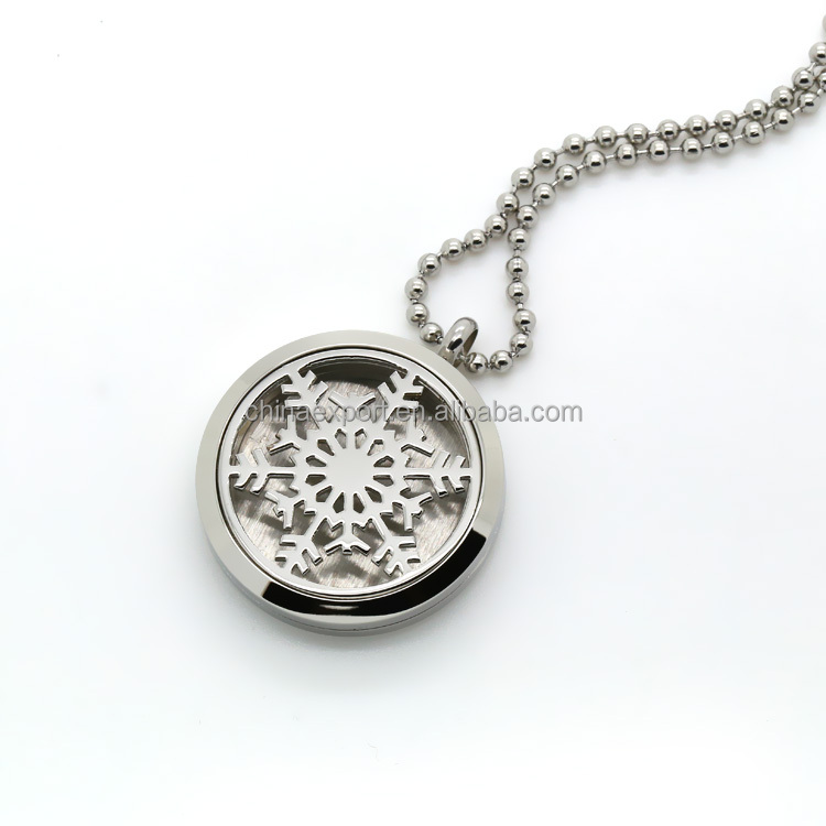 Wholesale jewelry essential oil Diffuser locket with cotton pad