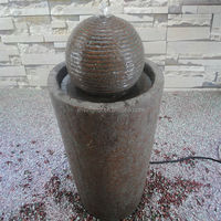 Decorative Pillar Outdoor Back Yard Water Features