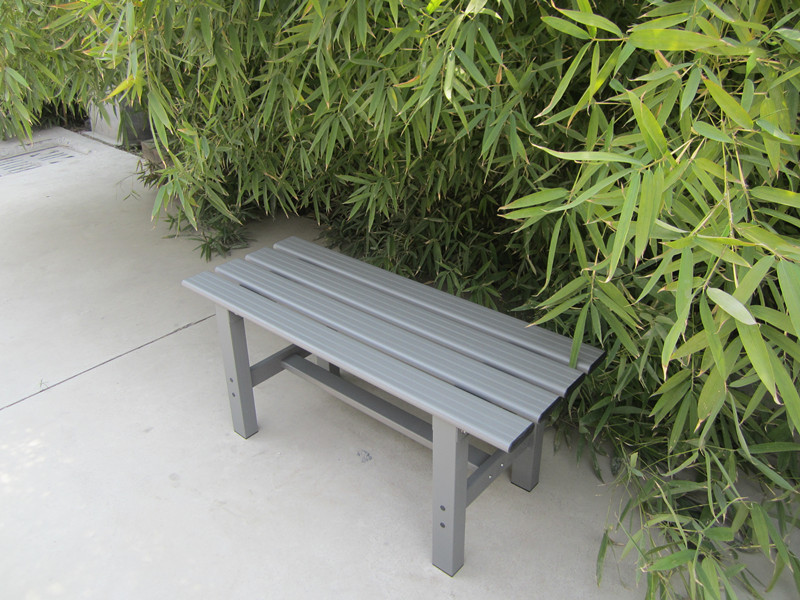 Garden bench aluminum metal furniture parts