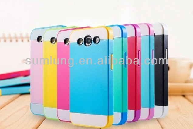 "2013 Newest Colorful TPU+PC Funky Mobile Phone Cases for Sumsung 9500/ 9300/ 7100/ note3/9000 ""11"""