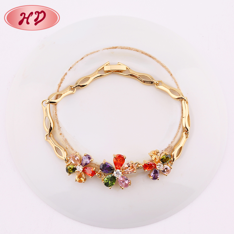 2018 New Design Gold Charm Bracelet Jewelry Design For Girls, View ...