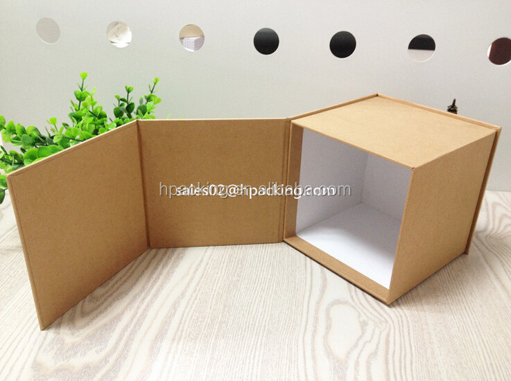 Printed corrugated cardboard carry case shoe packing paper box
