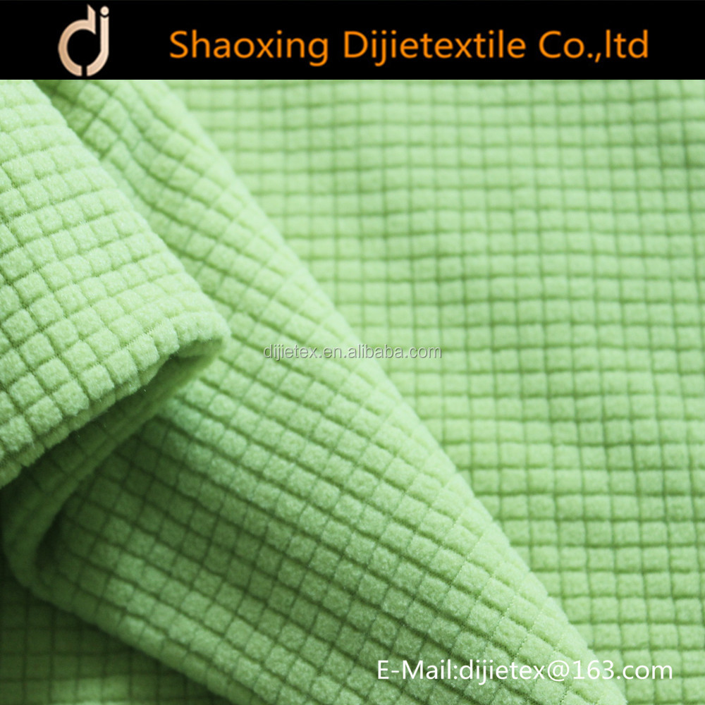popular drop-needle polar fleece
