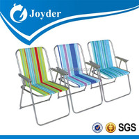 beach chair colorful low seat sling folding outdoor chair beach chair