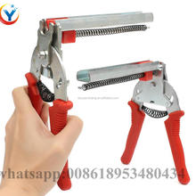 Chicken Cage M Ring Clamp Plier pinchers and nails for fixing chicken cage