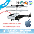 Modern toys for children Iphone & Android wifi controlled mini helicopter toy made in china