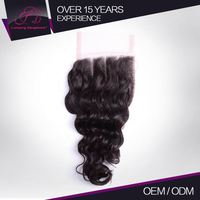Customize Length 100% Full Cuticle 100% Raw Remy Lace Front Closure