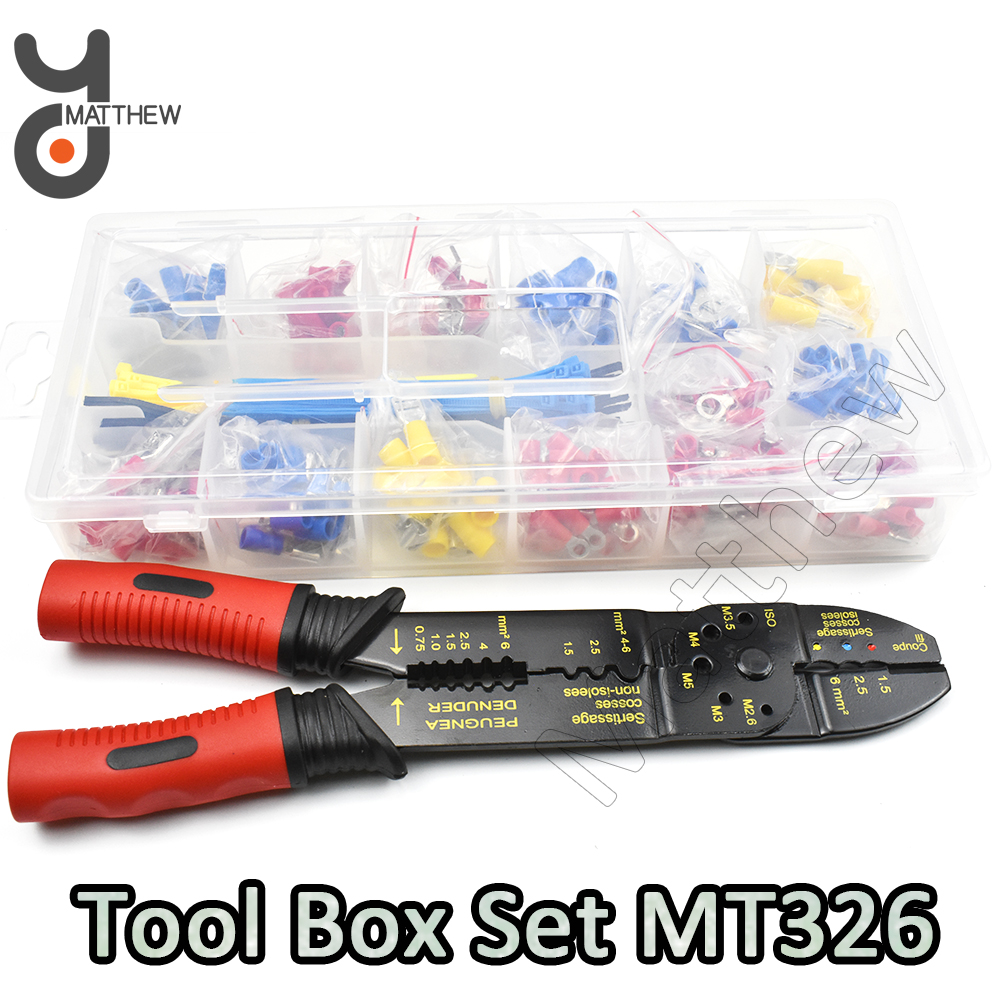 MT326 Set PP Box Packed Multi-function Wire Stripper and Crimper