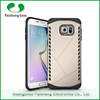 China phone case manufacturer durable 2 in 1 dual layer phone case for Samsung galaxy S6 edge plus
