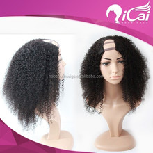 Hot sell african american curly wig,100% human hair wigs for black women