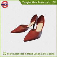 2015 new style printing shoe manufacturer prototype by CNC Machine