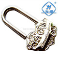 Different design heart shaped love lock for wishing purpose
