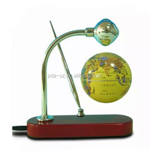magnet floating pop globe 3.5inch with a pen for decor gift education