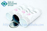 Gift Packaging Box Candle Glass Canister Round Tin Can Supplier