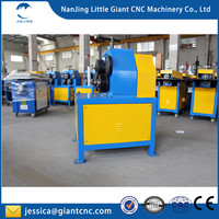 2017 best selling electric angle steel rolling round machine / electric iron roller