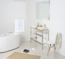 New product safety modern design bathroom vanity cabinets