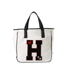 Promotional Custom Recycle white cotton Shopping Tote Bag