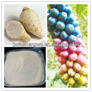 Natural Manufctured White Konjac Powders