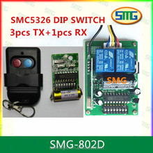 China Manufacturer Universal 8 Dip Switch Remote Control 433 RF Remote Control Transmitter