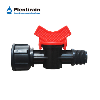 High quality plastic pipe valve fitring for agricutlre irrigation drip line