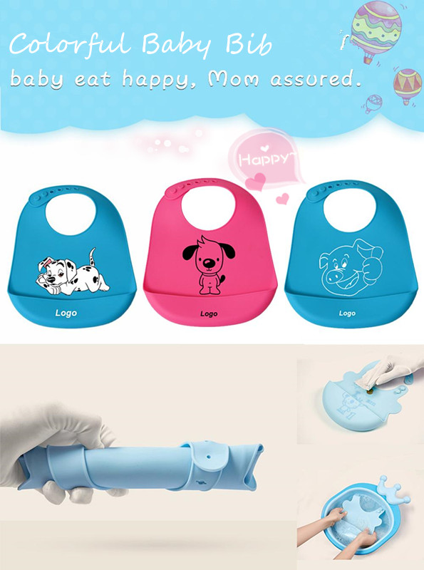 2018 New products  waterproof silicone bandana  baby bibs wholesale silicone baby  Drool Bibs For Baby Wear