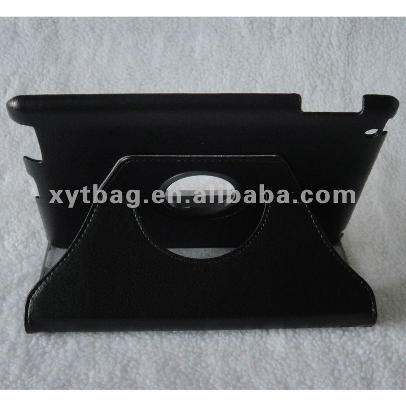 Elegant style black color tablet screen protecting case for ipad 2/3