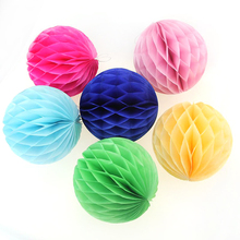 Customize Paper honeycomb ball/tree for Christmas ornament at best price