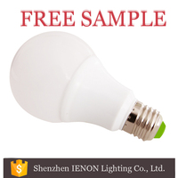IENON Best selling energy saving led bulb e27 3w 5w 7w 9w 12w 3000 lumen led bulb light