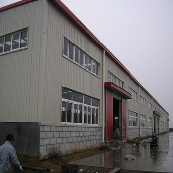 Prefab steel structure metal roof warehouse shed