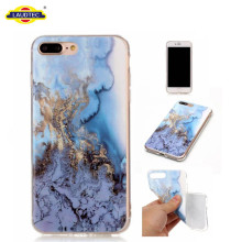 Printed marble case TPU gel cover for iphone 7 plus phone case