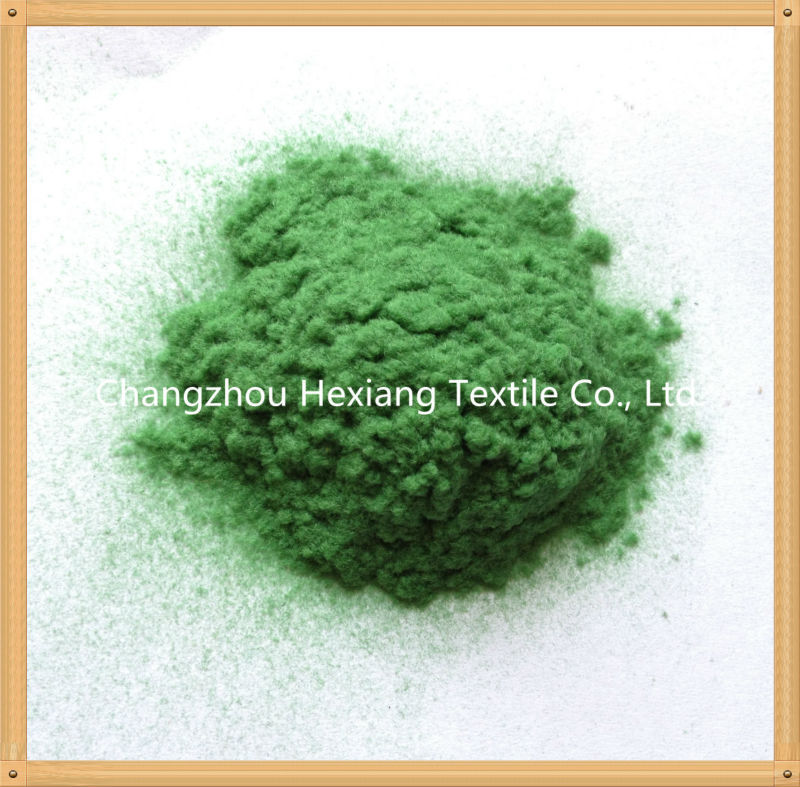 100% Nylon/Polyamide 66 Flock Powder for Textile
