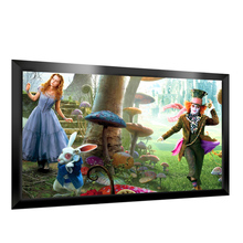 High quality picture fixed frame projection screen