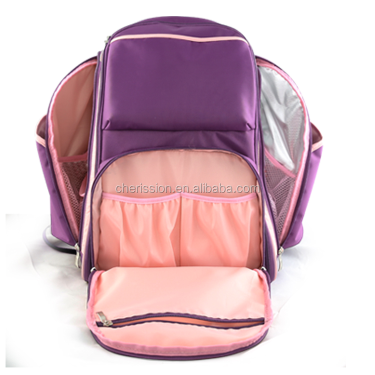 Vogue baby diaper backpack changing travel mommy bag