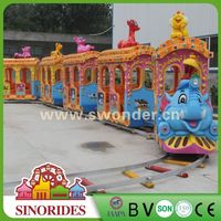 Lighting electric track train ridesamusement park rides kiddie train,amusement park rides kiddie train