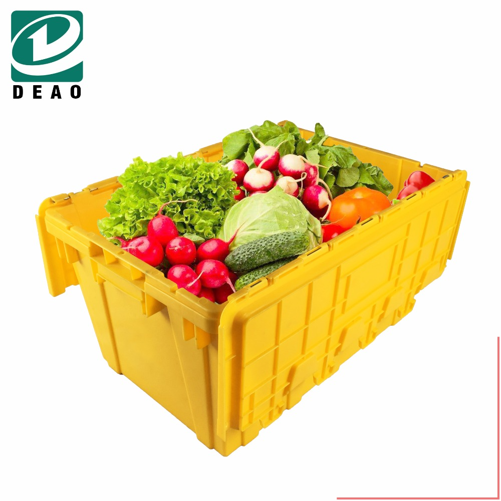 PP/PVC raw material Agriculture plastic crates for bottles
