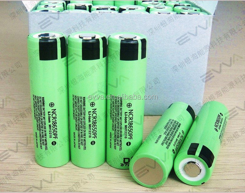 NCR18650PF 2900mAh 10A discharge high Power Type Battery for Panasonic