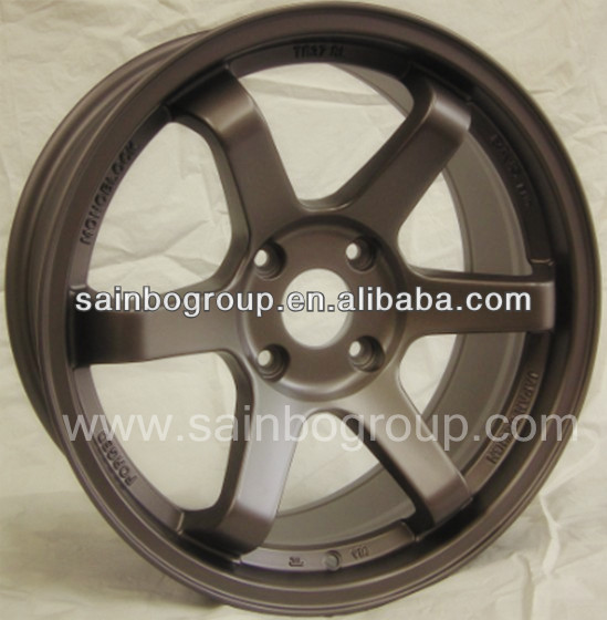Bronze Volk Rays TE37 Alloy Wheels For Cars