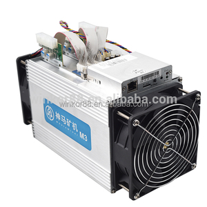 28nm ASIC Whatsminer M3 Bitcoin Miner Included PSU IN STOCK