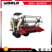 Customers' requirement mini soybean combine harvester