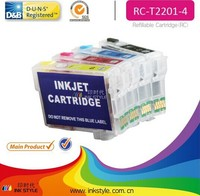 inkstyle hot sale for epson t2201 refill ink cartridge for wf-2630 wf-2650 wf-2660