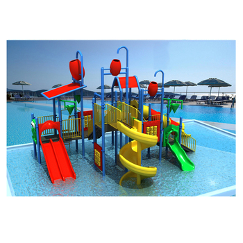 hard plastic giant water slide for adult used swimming pools HF-G145B