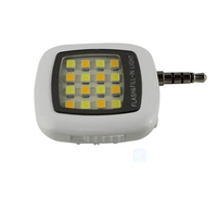 3.5mm Smart Selfie 16 LED Camera External Flash Light for IOS Android Smart Phone