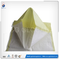Packing 25kg plastic woven used flour sacks sale