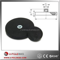Strong Neodymium Rubber Coated Magnet with Low Price