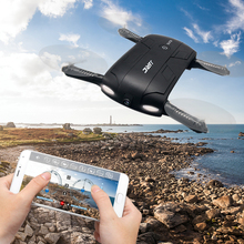 Hot Sales JJRC Selfie Mini Pocket Foldable WIFI RC Drone With HD Camera