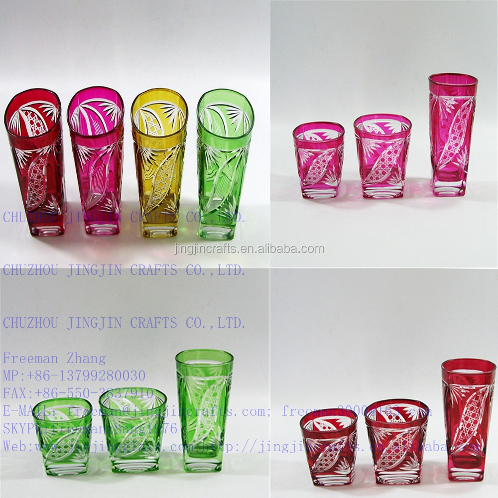 2015 Jingjin best selling promotional glass tumbler for home,hotel ,bar ,office/red wine glass/glass goblet/champagne flute