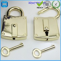 Popular Handbag Padlock Tiny Suitcase Crafts Lock Set