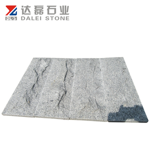 Grey Granite Split Surface Exterior Wall Cladding Facing Stone Tile