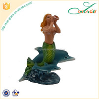 resin mermaid figurine statue souvenirs